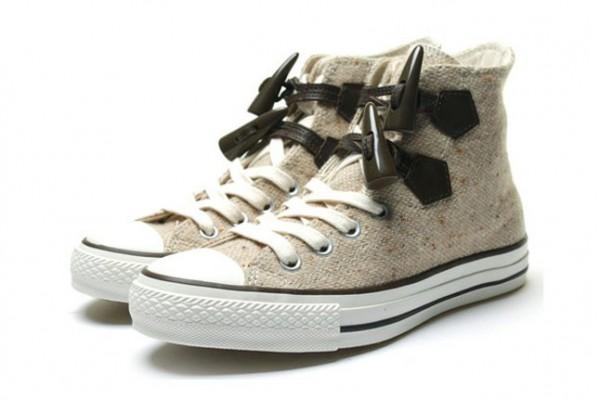 Scarpe Sneakers Converse All-star abbinate ai cappotti Montgomery ... e505cb9bb9c
