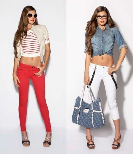 online store 408f5 1bb6a Nuova Collezione abiti Donna Guess Primavera estate 2011 ...