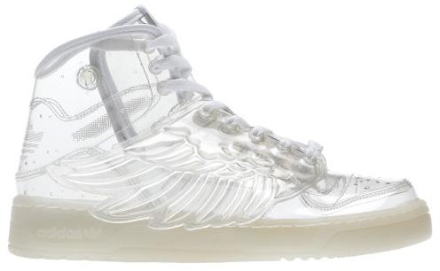 c92e574755bb7 Scarpe Sneakers Adidas Jeremy Scott Trasparenti con le ali