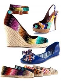 best service 18b40 92aad Collezione scarpe donna Missoni Primavera estate 2011 ...