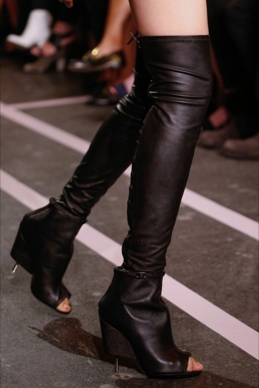 Givenchy-Shoes-Spring-Summer-2015-glam-rock-Womens-Shoes-overknee